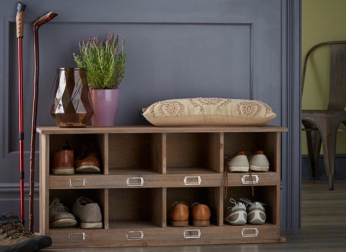 Farnworth Shoe Storage Locker and Bench