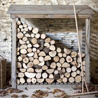Outdoor Log Storage
