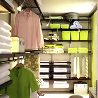 Dressing Room - Elfa Best Selling Storage Solution