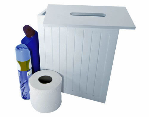 STORE Shaker Style Cleaning Products Box - Bathroom cleaning materials