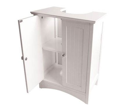 shaker style under sink unit bathroom storage cabis