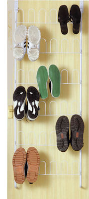 over door shoe storage rack
