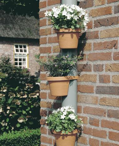 drainpipe plant pots / Botanic Flower Tower