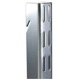 Elfa Vertical Wall Bars - 1.5m Platinum