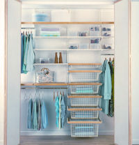 Elfa Best Selling Solution - Walk-In-Wardrobe I