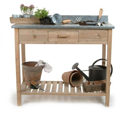 Garden storage furniture pg 1 of 2 home storage systems - Potting bench with storage ...