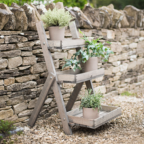 Wooden Ladder Garden