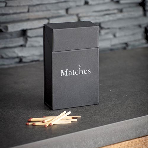 Matches Storage Box