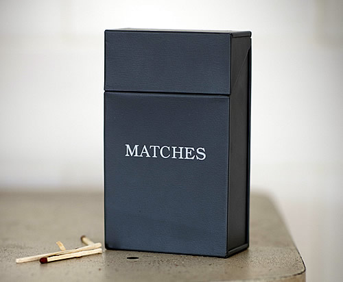 storage box for matchboxes