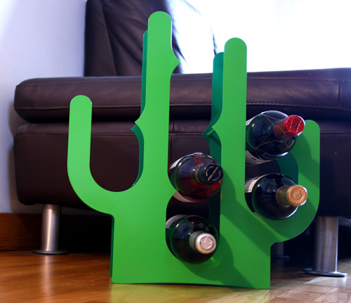 stainess steel wine storage rack