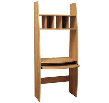 Storage Furniture >> Oak Space Saving Computer Desk