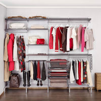 Elfa Freestanding Solution  - Wardrobe 1
