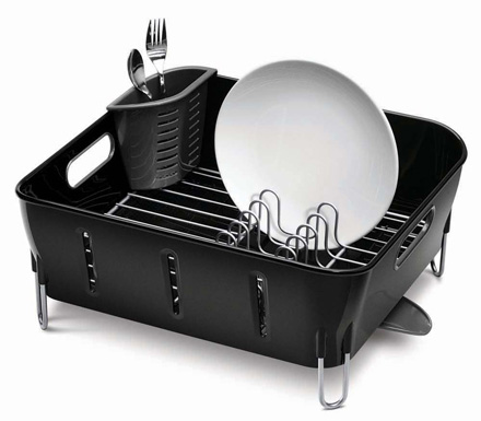 compact plate / dish rack
