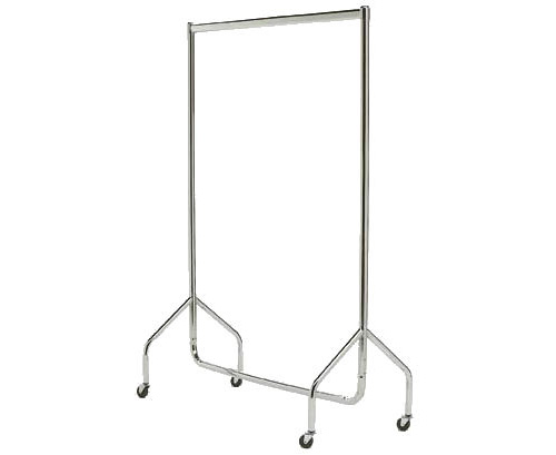 Delux clothes rail / hanging rail on castors...watch out for matching shelf for extra storage!