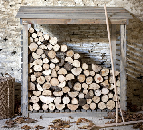 Store wooden log store for Log storage ideas