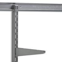 elfa top tracks and vertical wall bars