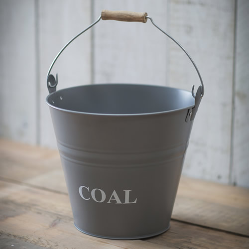 stylish coal scuttle / coal bucket