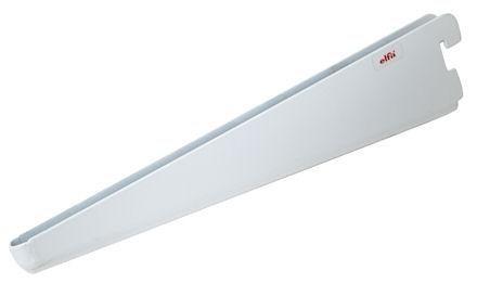 solid elfa twin slot shelf bracket