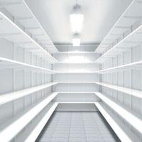 120cm x 50cm deep Melamine Elfa Shelf