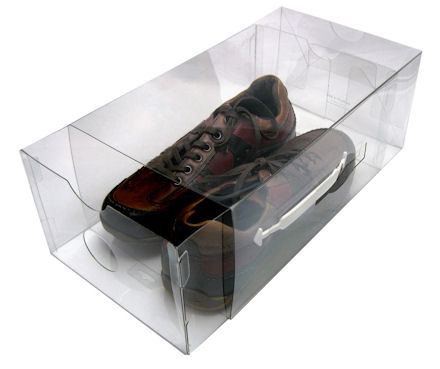 mens clear shoe storage boxes /drawers