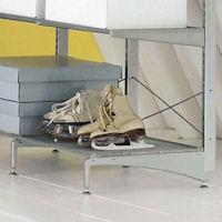 Elfa freestanding™ feet 57cm - Platinum