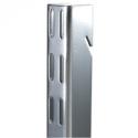 Elfa Vertical Wall Bars - 2.3m Platinum