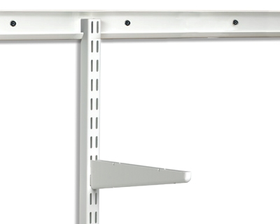 elfa twin slot shelving upright...just like spur but better!