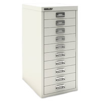 10 Drawer Mini Filing Cabinet