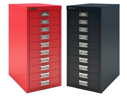 Bisley 10 drawer filing cabinet