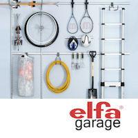 storage for garages, workshop storage and garden shed storage from elfa