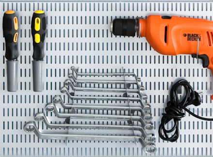 spanner and wrench storage hooks