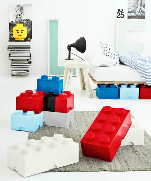 giant LEGO storage brick storage boxes