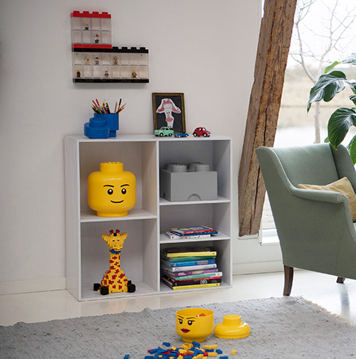 Giant LEGO Man Storage Head