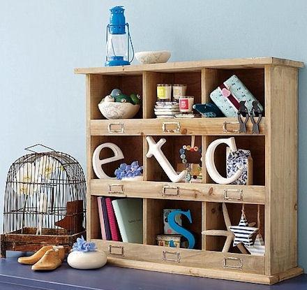 Cubby Storage Shelf Unit