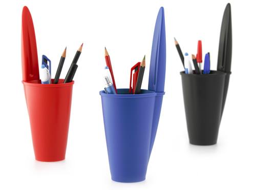 biro lid desk tidy and pen pot