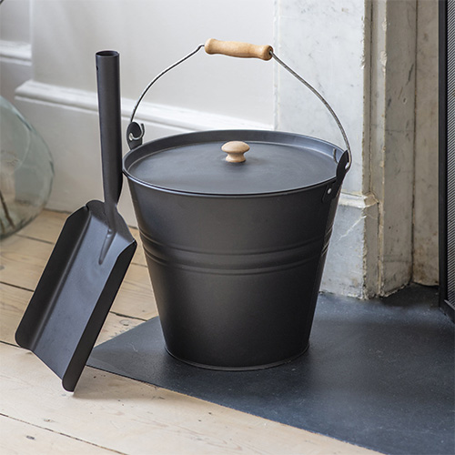Fireside Bucket with Lid