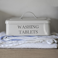 Washing Powder / Dishwasher Tablet Storage Box