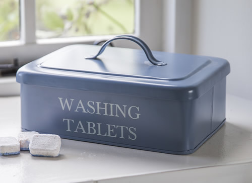 washing powder storage box in slate