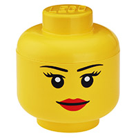 Giant LEGO Storage Head -  Small Female