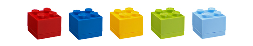LEGO Brick Mini Storage Boxes, part of our new Giant LEGO Storage Box range