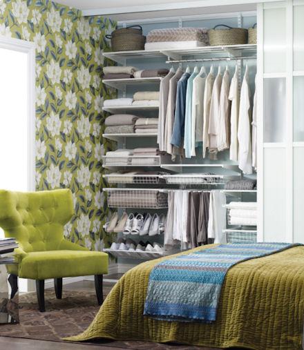 Elfa Best Selling Solution - Classic Wardrobe 4