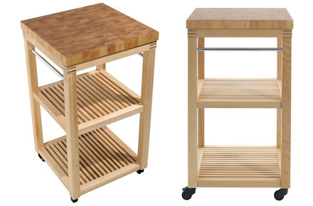 Aldi Kitchen Butcher Trolley : Wooden Kitchen Trolley - Clearance STORE