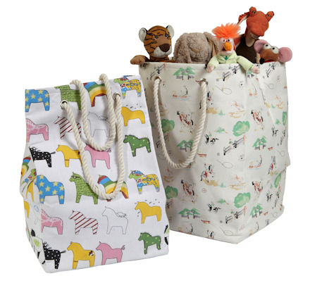 Fabric Toy Storage Bag