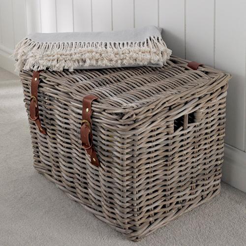 Fisherman's Wicker Basket - Large - Wicker Basket | Wicker Vegetable ...