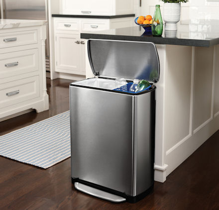 gallery for gt kitchen recycling bins kitchen awesome kitchen trash bin ideas with grey