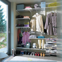 Elfa Best Selling Solution - Boot Room Shelving