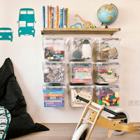 WALL STORE $reg$ - Toy Storage Boxes