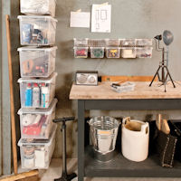 WALL STORE ® - Garage / Workshop Storage Boxes