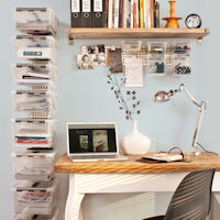 WALL STORE® - Home Office Storage Boxes