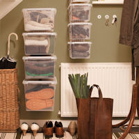 WALL STORE ® - Hallway Storage Boxes